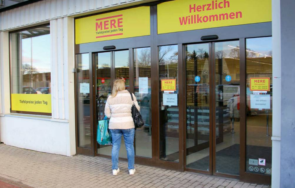 Mere budget supermarkets opening in Germany